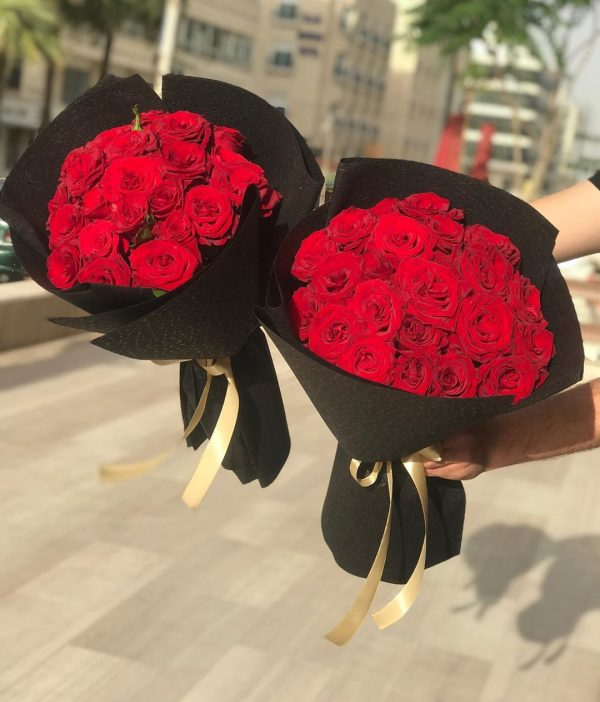 Red Roses Bouquet - Flowers & Gifts Delivery Amman Jordan